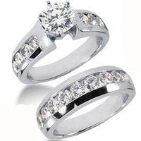 Diamantring Sets aus unserer Exklusivserie versandkostenfrei bestellen bei www.juwelierhausabt.de