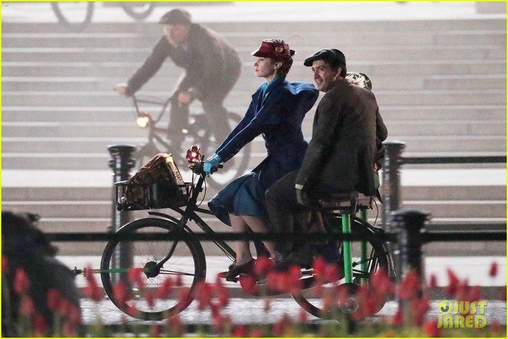 Lin-Manuel Miranda - Jack the lamplighter - Mary Poppins Returns - Emily Blunt - Mary Poppins