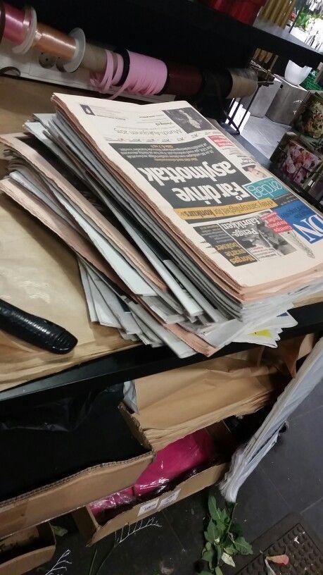 Jeg var på Grette og leverte blomster, kom tilbake med aviser