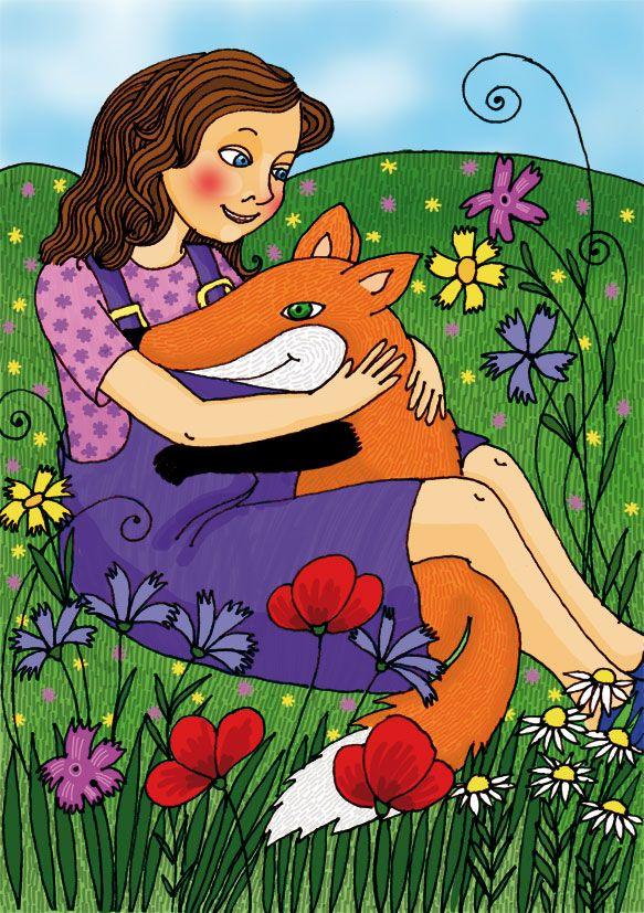 A kislány meg a róka