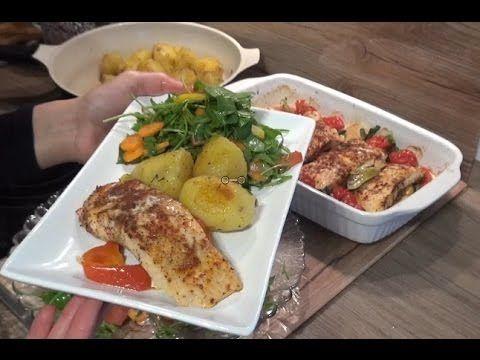 Fırında Somon Balığı Tarifi - YouTube