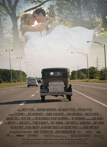 Wedding DVD Back Cover