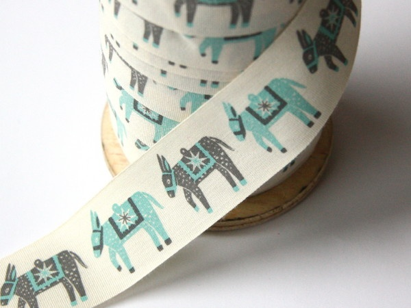 Alice Pattullo Printed Christmas Ribbon