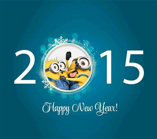 2015 Happy New Year Minions