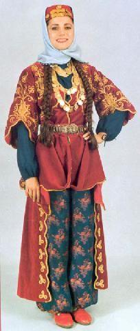 Turkish Costumes, Elazig, Woman
