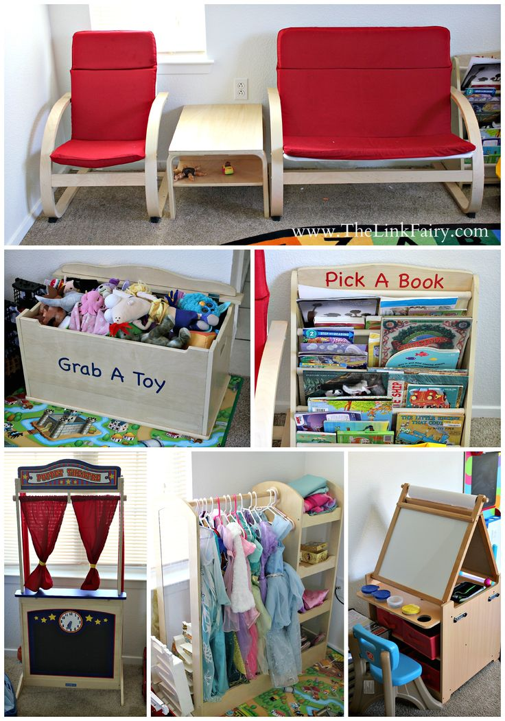 GuideCraft offers the wonderful play room furniture that's just the right size for little ones. #DIY #guidecraft