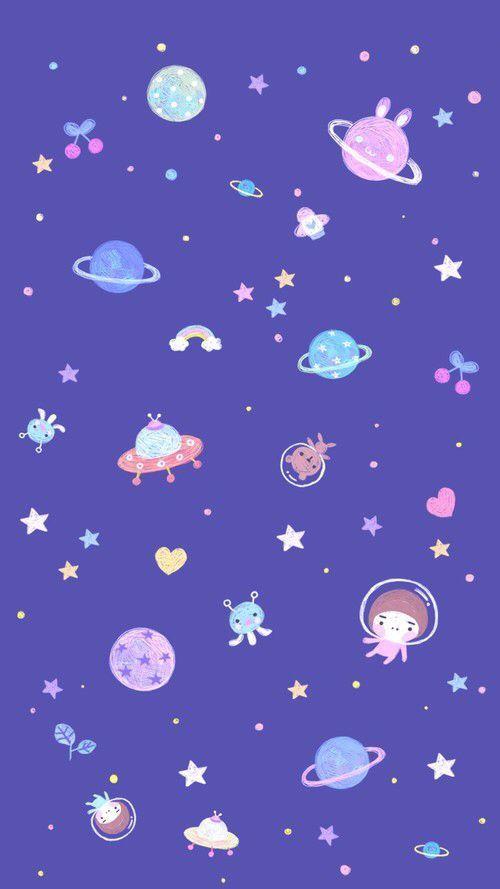 galáxia wallpaper tumblr