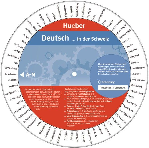 """Wheel – """"German... in Switzerland"""" by HUEBER VERLAG 
