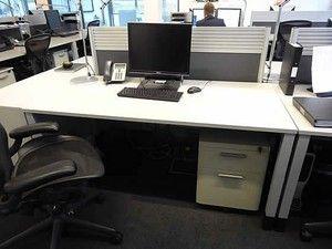 fab white steelcase desks very cheap office desks