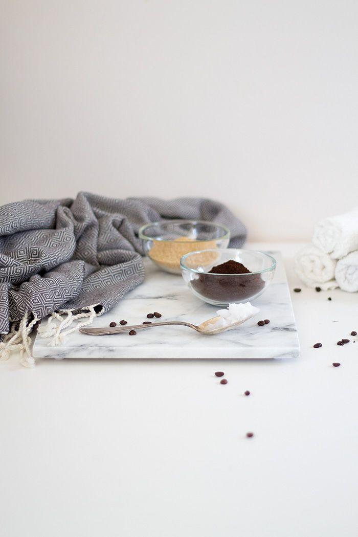 Zutaten für Kaffee Körperpeeling - Beauty DIY
