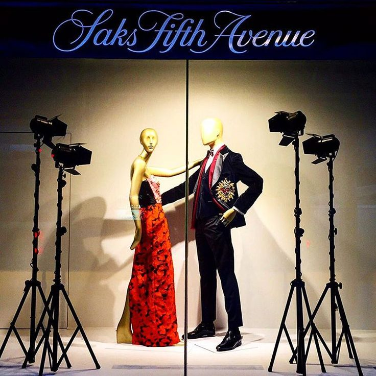 """SAKS FIFTH AVENUE, Eaton Centre, Toronto, Canada, """"Kristy, will you marry me...... NO, thank you Paul"""", pinned by Ton van der Veer"""