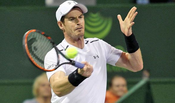 Andy Murray through to last eight of Qatar Open after beating Gerald Melzer in Doha