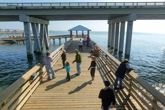 St tammany fishing pier new orleans new orleans for New orleans fishing