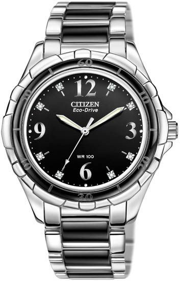 EM0031-56E - Authorized Citizen watch dealer - LADIES Citizen CERAMIC, Citizen watch, Citizen watches. For all your watch and jewelry visit Renaissance Fine Jewelry in Brattleboro, Vermont. www.vermontjewel.com, call 802-251-0600.