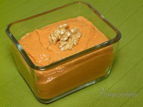 Muhammara, aperitivo árabe de pimientos https://www.pinterest.com/maiteblancop/cocina-internacional/
