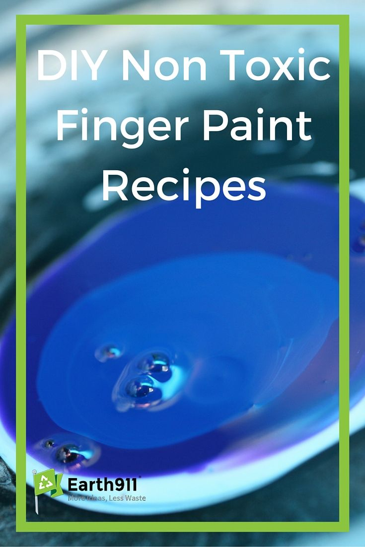These DIY Non Toxic finger paint recipes are super easy and look like so much fun for little ones!