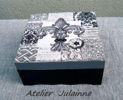 Atelier de Arte Julainne: Découpage