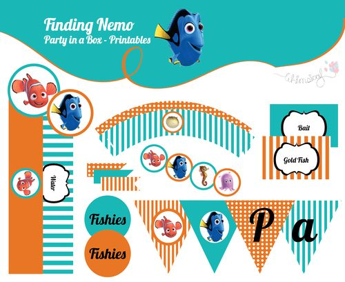 ONLINE STORE - Finding Nemo - Party in a box  http://awishawaywhimsical.blogspot.com/p/online-store_8.html#!/~/product/category=8444400&id=32826237