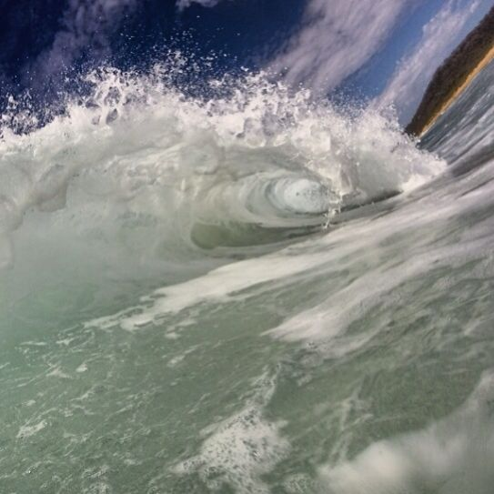 A photo a day Barrel dreaming #surfing
