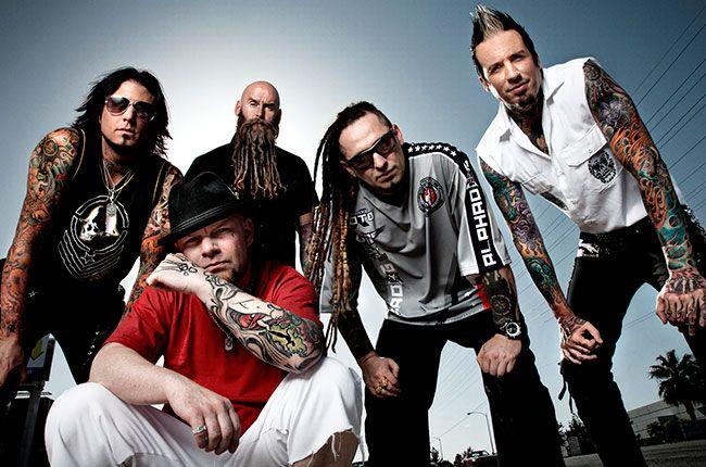 Five Finger Death Punch Crank Second Album of 2013: Watch Exclusive Video | Billboard