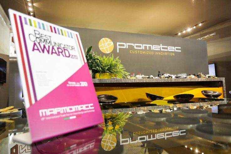 Prometec stand - mention - Best Communicator Award