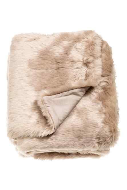 Pătură din blană artificială