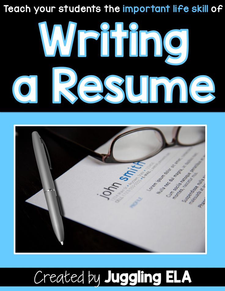 1039 best HighSchool images on Pinterest High school english - resume writing for highschool students