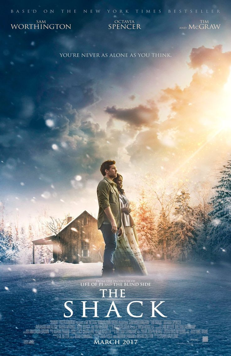 """The Shack. I cried. And cried. And cried. The whole movie I kept telling myself """"crying is okay, sobbing is not."""" It was a very impactful movie."""