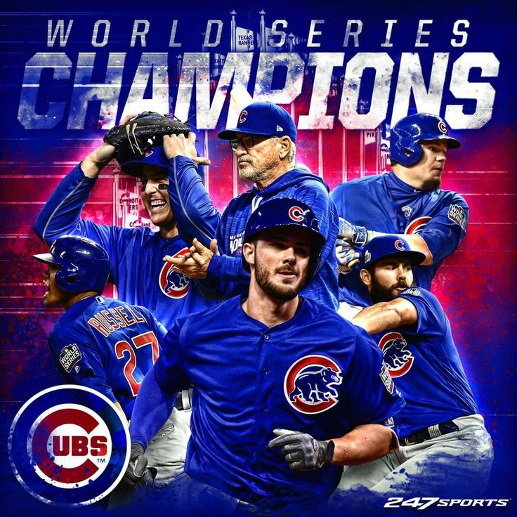 Chicago Cubs world champions 2016