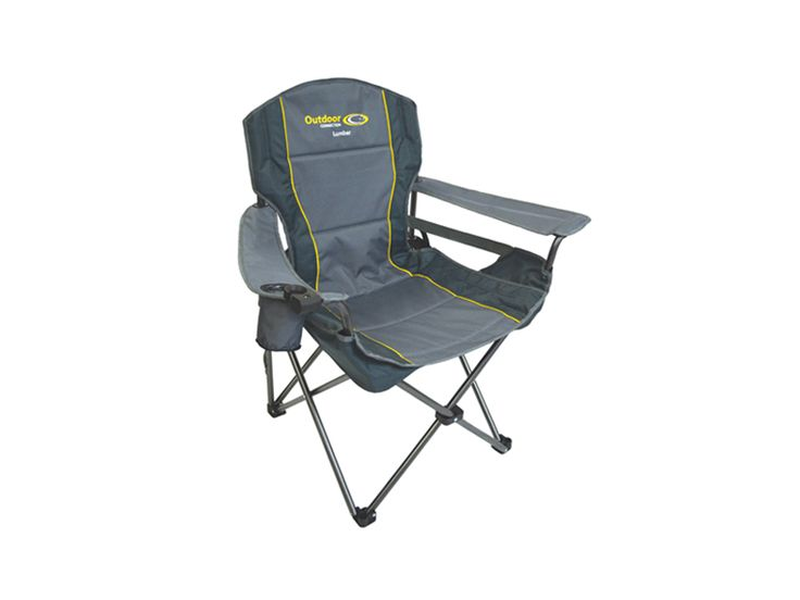 Enjoy Camping Whilst Looking After Your Back! Adjustable Lumbar Support  Makes The Lumbar Chair A Very Comfortable Camp Chair.