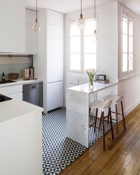 Barrita / Piso delimita cocina