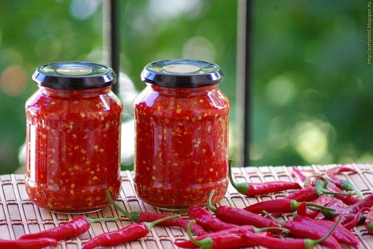 Ezt fald fel!: Chilikrém készítése házilag tartósítószer nélkül