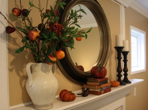 Now I want a round mirror above my fireplace instead of rectangular.