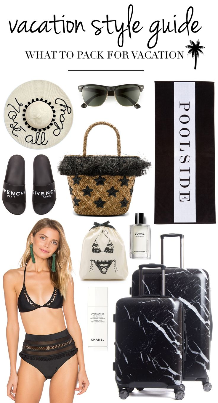 Vacation Style Guide   What To Pack For Vacation   Vacation Fashion   Resort Wear   Vacation Clothes   Vacation Wear   Cute Vacation Clothes   Vacation Dresses   Swimsuits   Bathing Suits   Beach Vacation Outfits   Resort Clothing