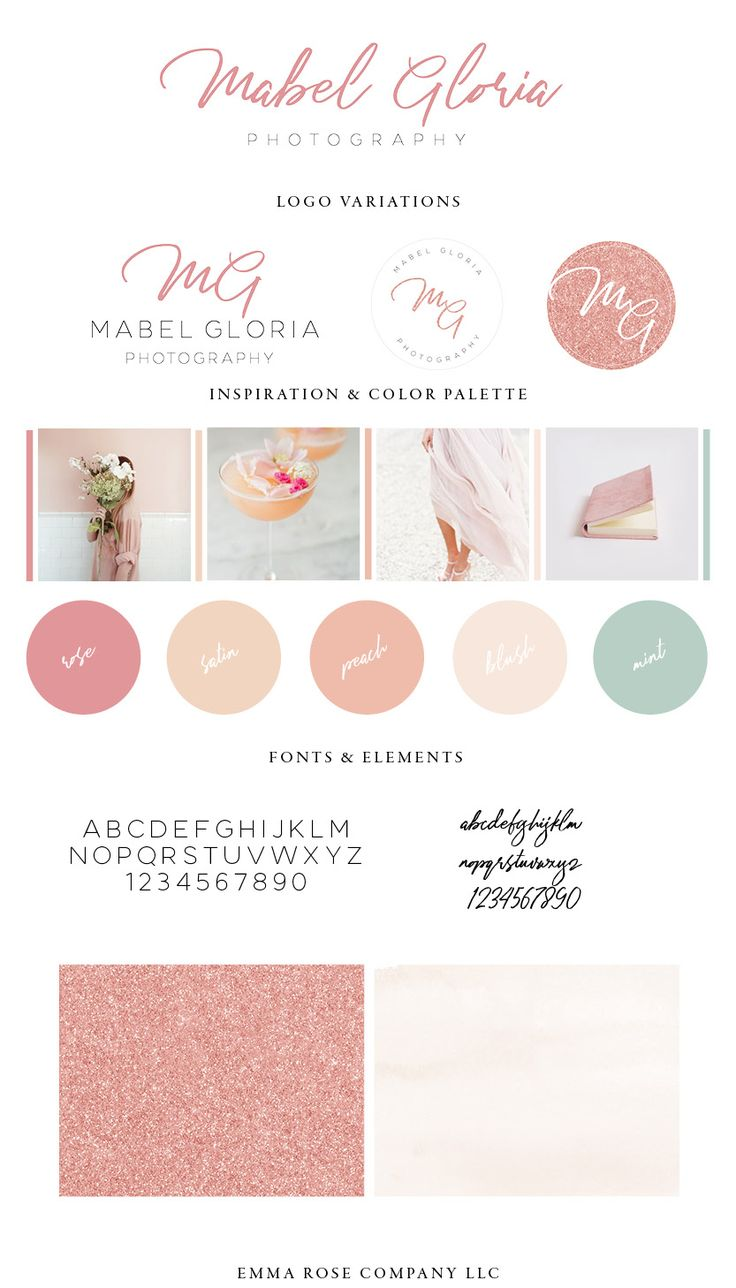 Mabel Gloria Photography Website Launch | Graphic Designer for Photographers and Creative Business Owners | Emma Rose Company LLC