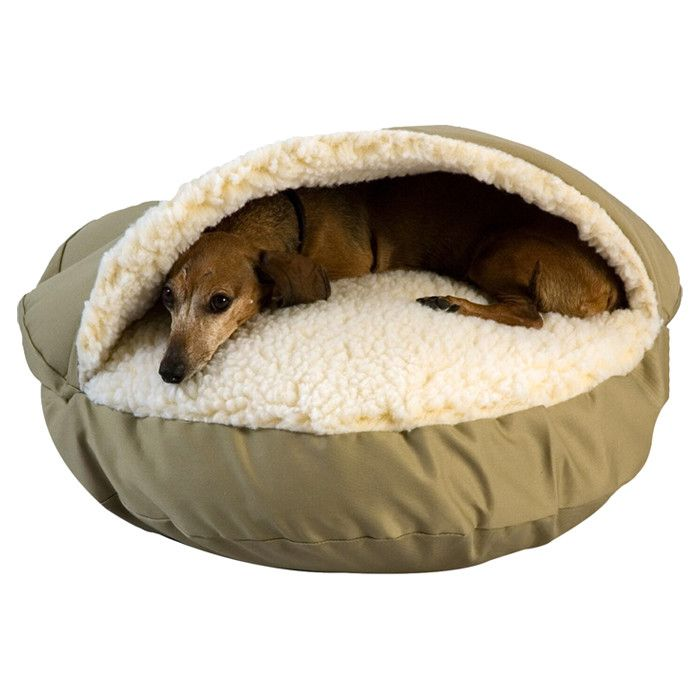 Snoozer Pal Pet Bed in Khaki - Personalized Pets