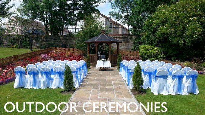 An Outdoor Humanist Marriage Ceremony At The Lynnhurst Hotel Johnstone Scotland