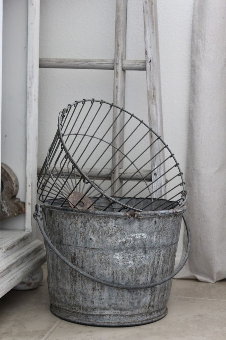 1708 best LOVE WIRE BASKETS TOO! images on Pinterest | Laundry room ...