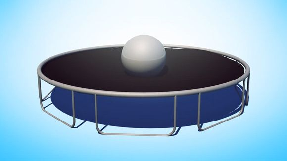 Cinema 4D - Creating a Trampoline with Dynamics Tutorial