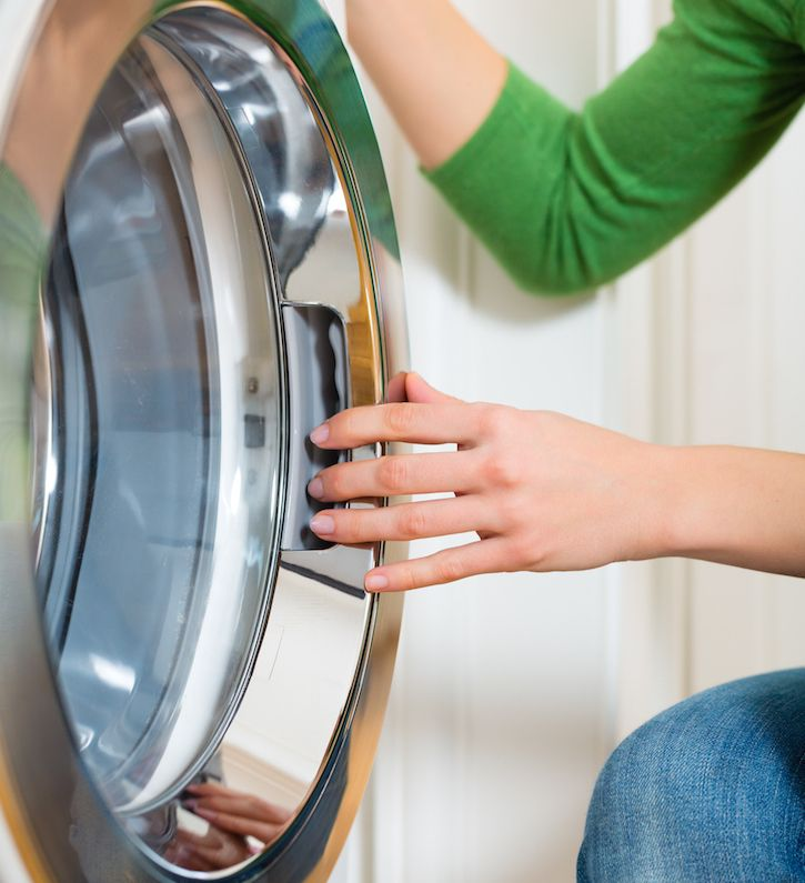 how to clean he washer