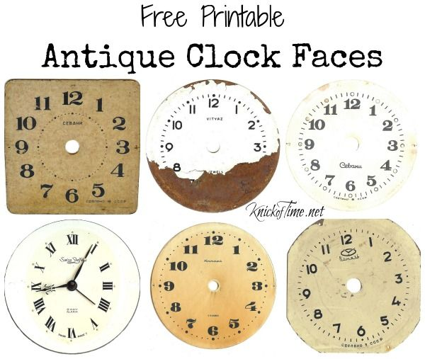 17 best images about Kinda fun idea on Pinterest Tin can crafts - clock templates