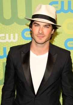 He is the reason why I watch,  The Vampire Diaries.. :)