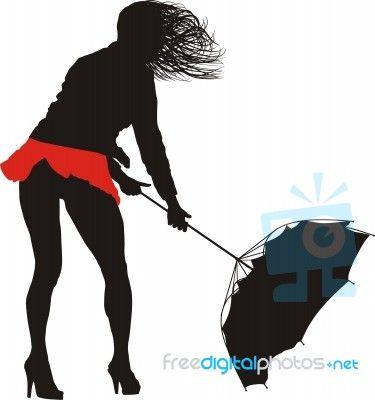 """Female Wrestling With The Wind"" by Vlado at FreeDigitalPhotos.net"