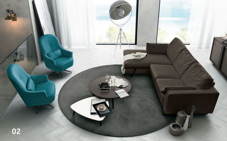 Turquoise, Chocolate, Coach, Living Rooms Ideas