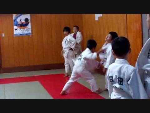 Judo warm up and uchi komi for kids under 10 years