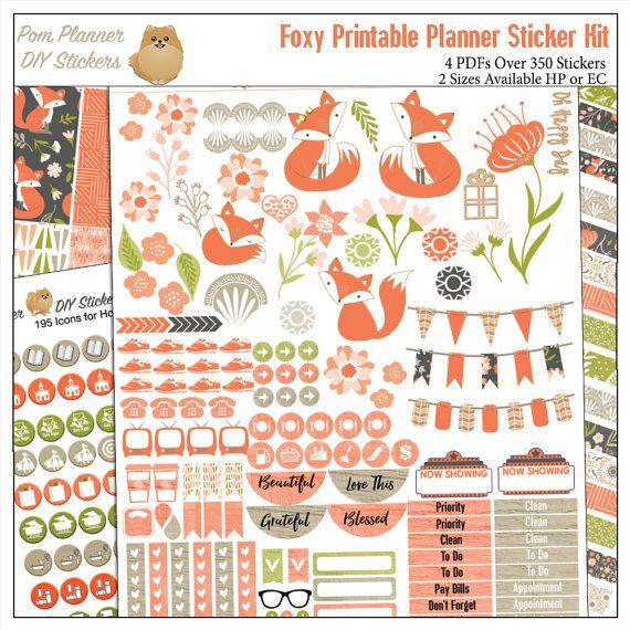 Printable Calendar Kit : Best digital printable planner kits images on