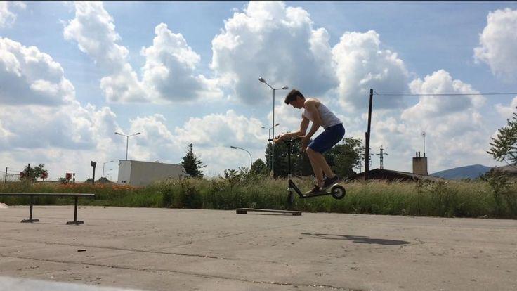 Team rider Dean Kopunec Dirt scoot