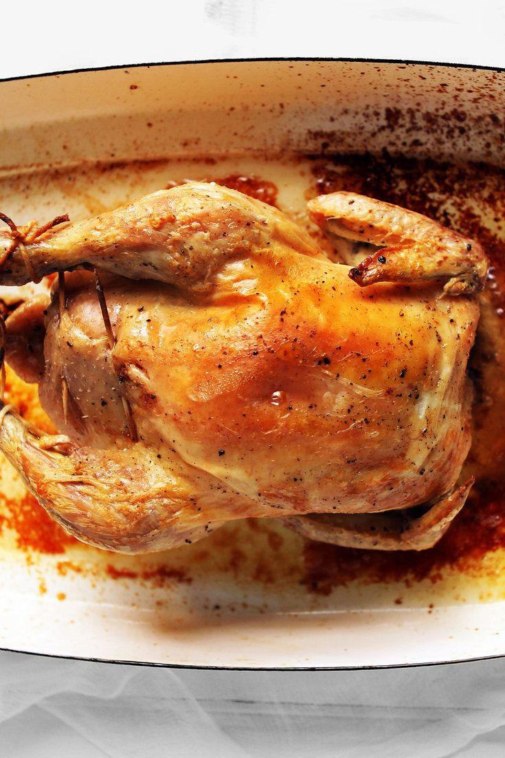 When Marcella Hazan died in 2013, The New York Times invited readers to share their favorite recipes from her books While her tomato sauce with butter and onion was the clear favorite, this astonishingly simple roast chicken and her Bolognese sauce were close runners-up.