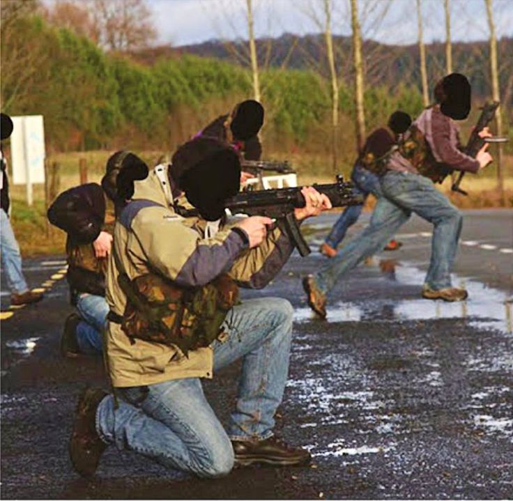 British Sas Training In Hereford England In The Early