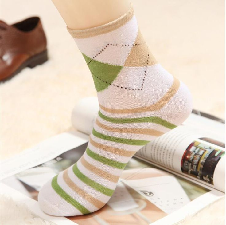 (5pairs)The spring and autumn period and the cheap socks wholesale The cotton  socks In the leisure fashion socks